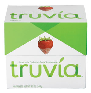 truvia logo and packaging